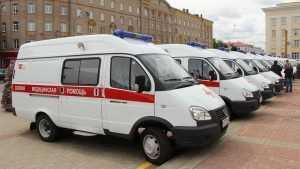 Брянская область до конца 2018 года получит 21 машину скорой помощи