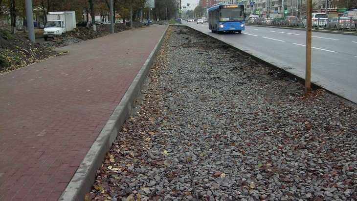 Проспект Московский в Брянске восстановят к концу ноября