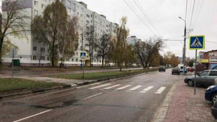 В Брянске 70-летний водитель сбил девочку-подростка на переходе