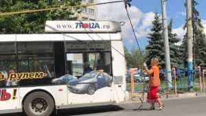 В Брянске вытащили из долговой ямы троллейбусное управление