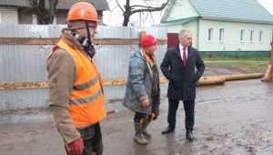 Замгубернатора Мокренко оценил работы по замене коллектора в Брянске