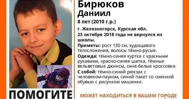 Брянские волонтёры рассказали о поисках убитого маньяком курского мальчика