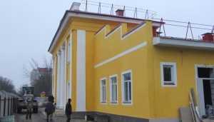 В Брянске ремонт театра кукол завершат до 15 декабря