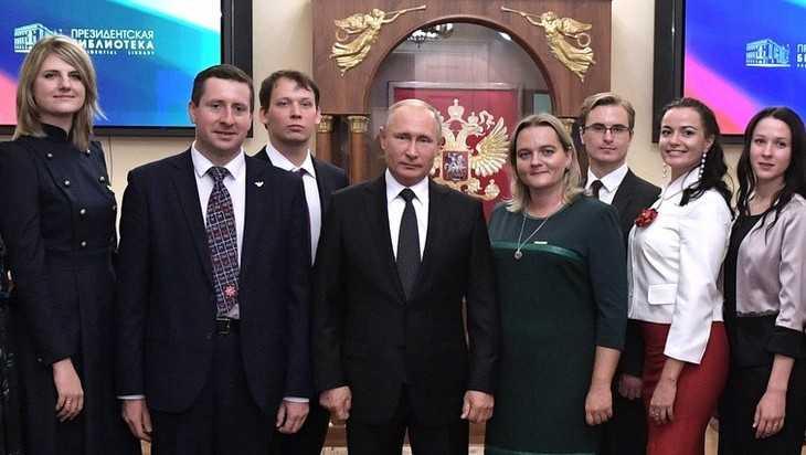Брянский финалист конкурса «Учитель года» Клюев пообщался с Путиным