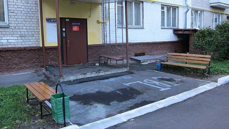 В Брянске с начала года отремонтировали пять дворов