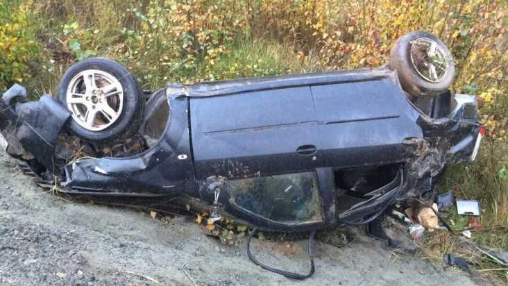 Под Жуковкой в перевернувшемся Renault погиб 32-летний мужчина