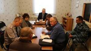 В Брянске уполномоченный по правам человека выслушал заключенных