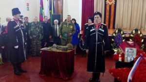 Погибшего на Брянщине солдата похоронили под Туапсе