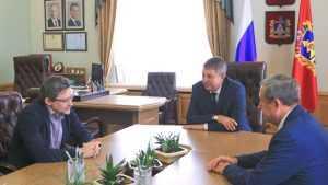 Богомаз поговорил с политологом Федоровым о брянской молодежи
