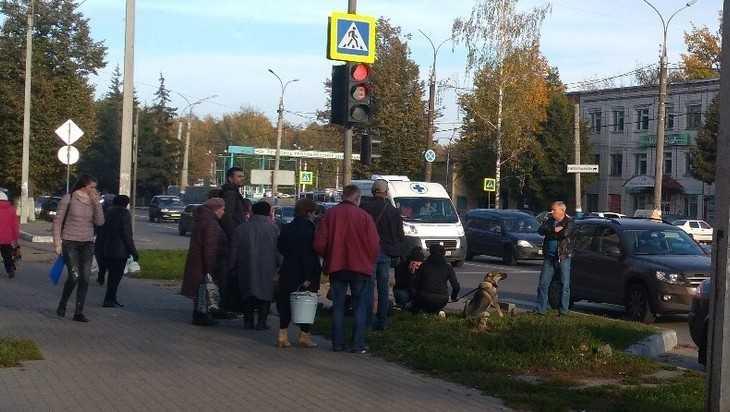 В Брянске возле кольца «Полтинника» иномарка сбила 11-летнего мальчика