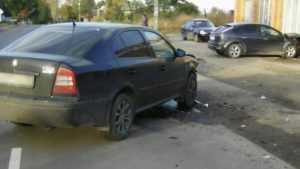 В Лопуши при столкновении «Шкоды» и «Форда» пострадала женщина-водитель