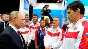 Брянский самбист Осипенко пообщался с Президентом России Путиным