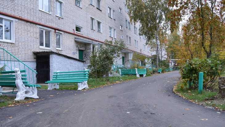 В Новозыбкове отремонтировали шесть дворов многоэтажных домов