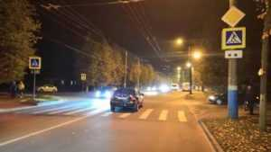 В Бежице на улице Ульянова легковушка сбила женщину на переходе