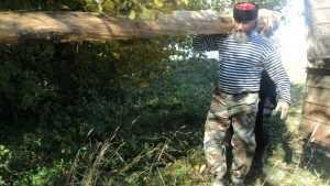 Дятьковские казаки восстановили купель и источник