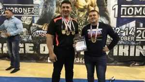 Брянские силачи привезли четыре «золота» с чемпионата Евразии