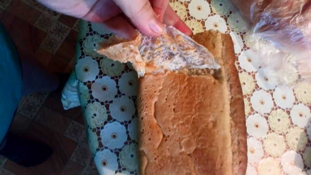 Брянцев угостили фисташками с жуками и хлебом с полиэтиленом
