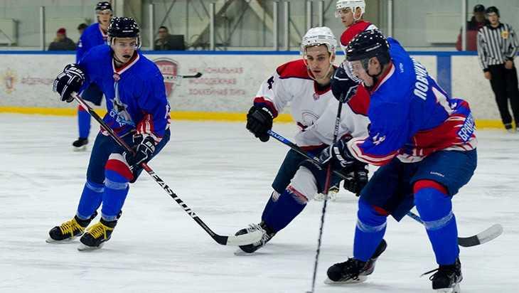 Хоккейные клубы «Брянск» и «Липецк» обменялись победами