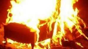 В горевшей квартире на улице Ново-Советской в Брянске пострадал человек