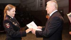 Кадровая служба Брянского УМВД отметила 100-летний юбилей