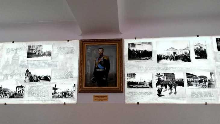 В Брянске вуз напомнило приезде императора Николая II в Бежицу