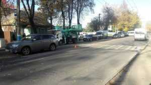 В Брянске сбили женщину на пешеходном переходе