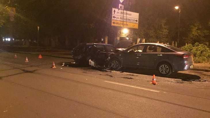 В ДТП на улице Ульянова в Брянске один из водителей оказался пьяным