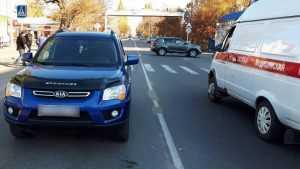 На пешеходном переходе в Новозыбкове пенсионер сбил женщину с ребенком
