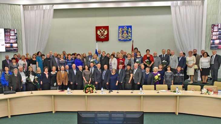 Брянское отделение Союза писателей России отпраздновало 55-летие