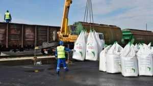 Современный комплекс фасовки минеральных удобрений заработал в Почепе