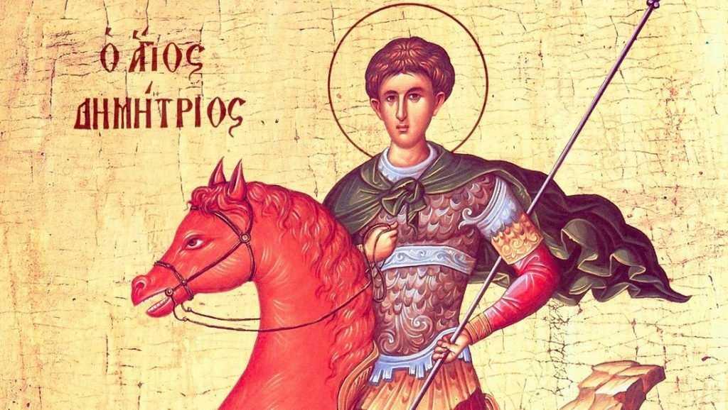 Мощи великомученика Димитрия Солунского доставили на Брянщину