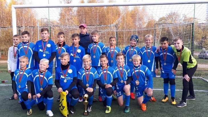 В Белоруссии юные футболисты брянского «Партизана» выиграли турнир