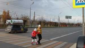 В Брянске на кольце возле мясокомбината сделают пешеходный переход