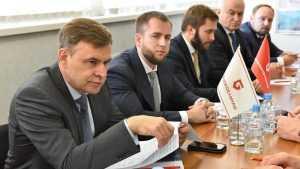 Российские сенаторы оценили работу предприятия «Брянсксельмаш»