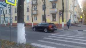 В центре Брянска на улице Горького сбили женщину на переходе