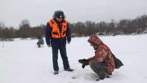 В Клинцовском районе рыбак провалился под лёд и погиб