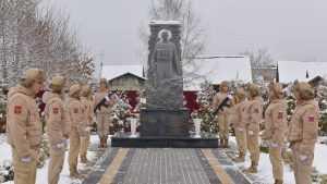 В Пальцо отдали дань памяти погибшему в Сирии офицеру Федору Журавлеву