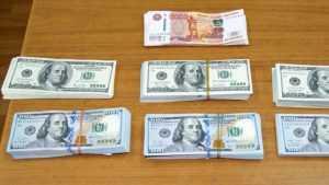 В Брянске таможенники изъяли у пассажиров поезда 30 тысяч долларов