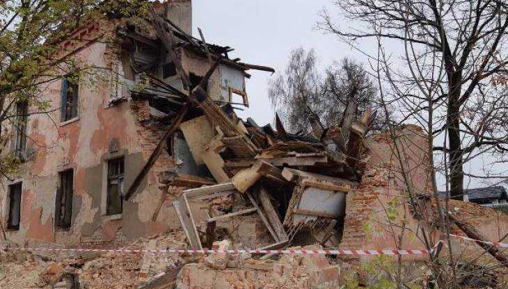 Брянского предпринимателя наказали за обрушение здания в Клинцах