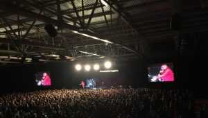 Концерт рэпера Басты в Ледовом дворце Брянска закончился давкой