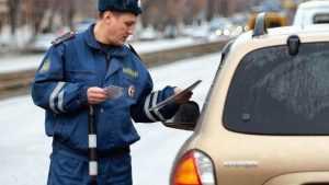 Почти полтысячи осужденных брянцев не сдали свои водительские права