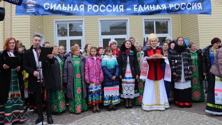 В Злынке открыли обновленный Дом культуры