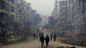 Алеппо обстреляли снарядами с хлором — погибли 65 человек