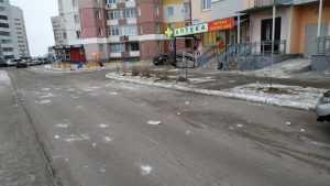 Брянские шариковы от безделья забросали двор кирпичами с крыши дома