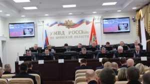 Нового руководителя УМВД Брянской области представят после 10 ноября
