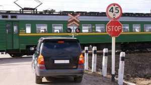 В Суземке 29 ноября закроют железнодорожный переезд