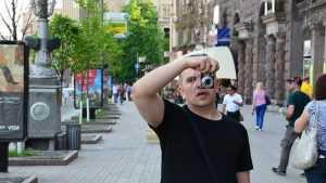 Брянский фотограф Антон Чехов стал Сашей Васиным