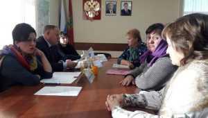 Жители Мглина рассказали депутату Госдумы о проблеме очистных сооружений