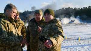Порошенко решил подтянуть армию к Брянской области