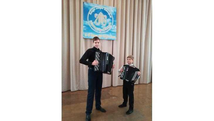 Юные брянские баянисты триумфально выступили на конкурсе в Белоруссии